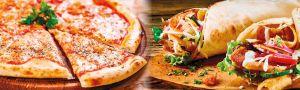 Pizza a Kebab